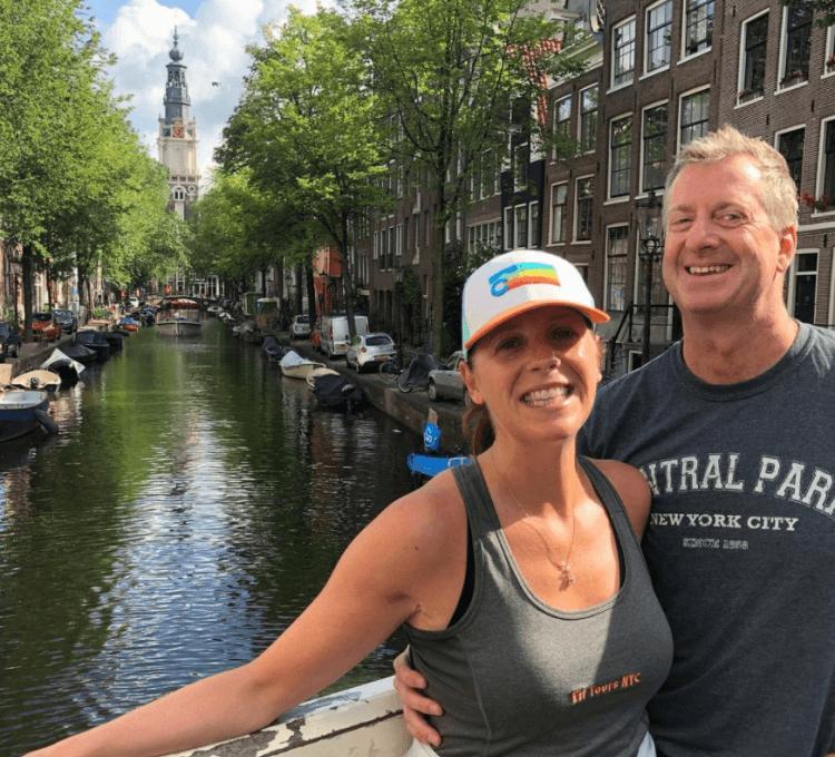Running tour Amsterdam