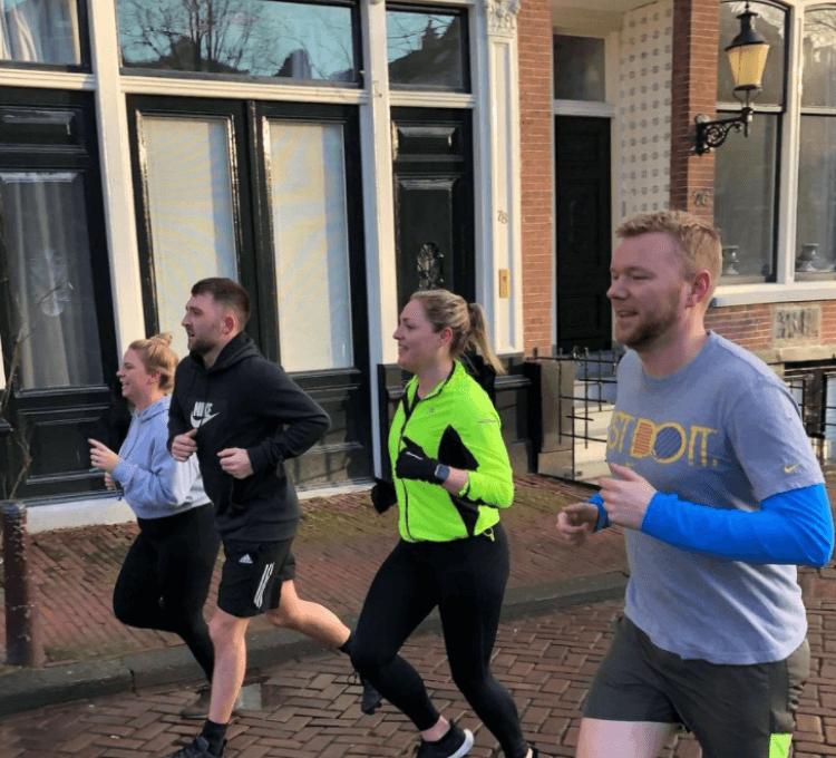 run tour Amsterdam